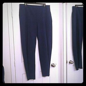Blue Eloquii wide leg pants